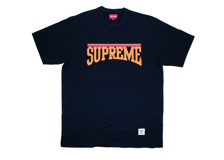 Supreme Arch S/S Top Navy