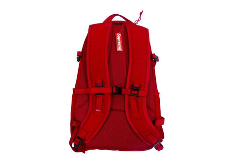supreme backpack red