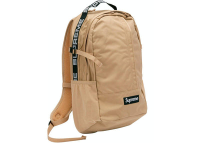 "Supreme Backpack ""SS18"" Tan"