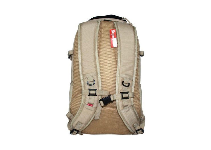 supreme backpack tan