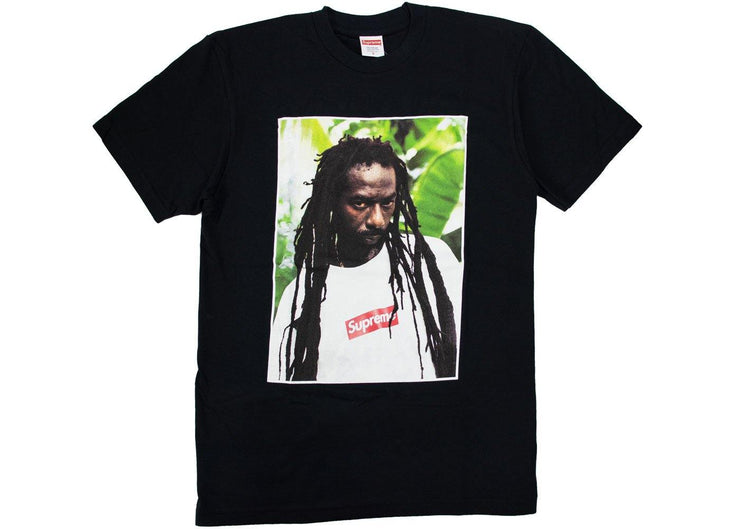 Supreme Buju Banton t-shirt black
