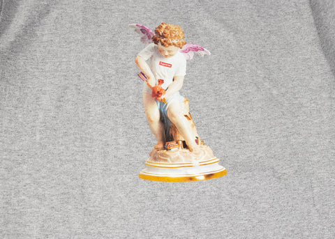 SUPREME CUPID T-SHIRT HEATHER GREY