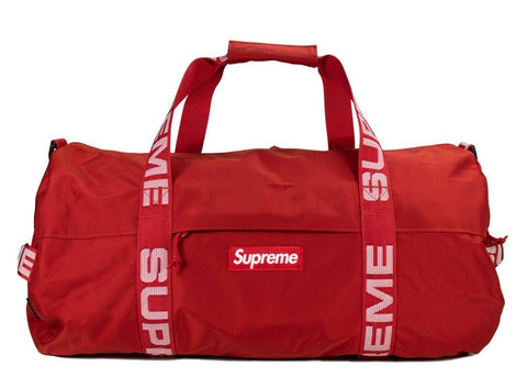 Supreme Duffel Red SS 18