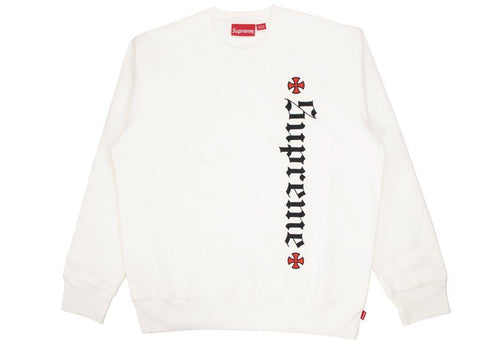 Supreme Independent Fuck The Rest white