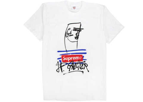 Supreme Jean Paul Gaultier T-Shirt White