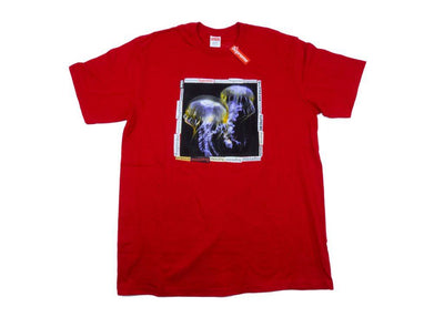 supreme jellyfish tee red