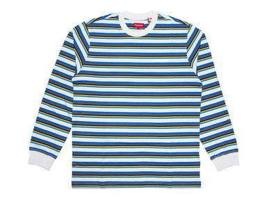supreme multi stripe ls top