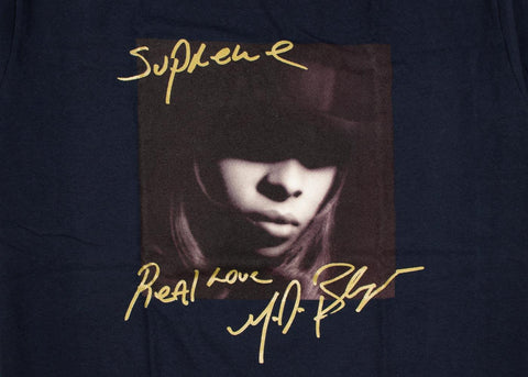 Supreme Mary J. Blige T-Shirt Navy