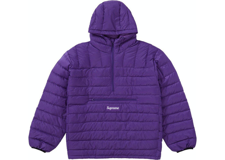 Supreme Micro Down Half Zip Hooded Pullover