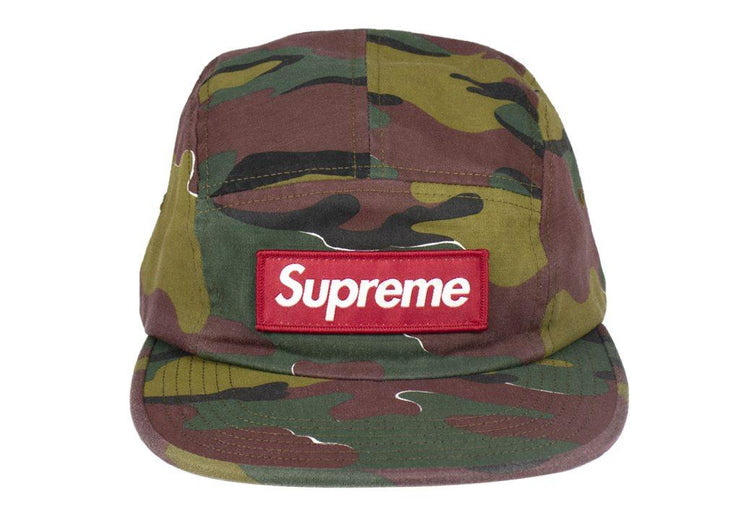 Supreme military camp cap Jigsaw Camo