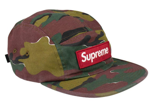 Supreme military camp cap Jigsaw Camo SIDE