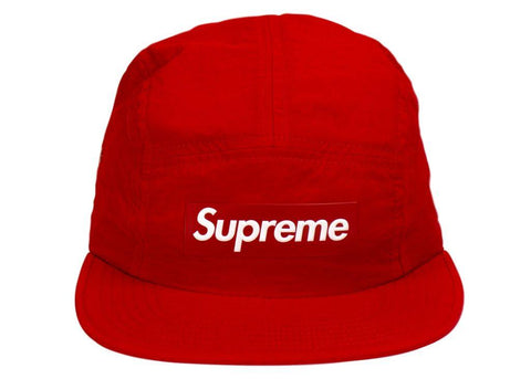 Supreme Velour Scared Heart camp cap