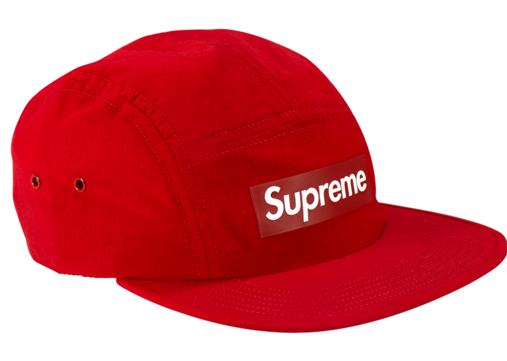 Supreme Velour Scared Heart camp cap side
