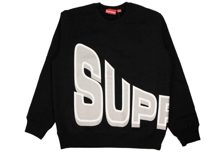 Supreme Side Arc crewneck black