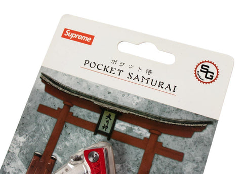Supreme StatGear Pocket Samurai Red