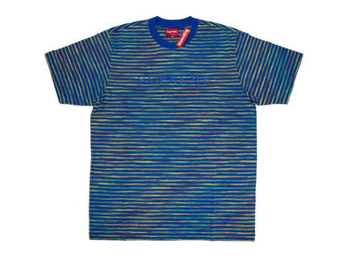 Supreme Static Stripe Top Royal