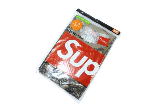 SUPREME HANES REAL TREE TEES