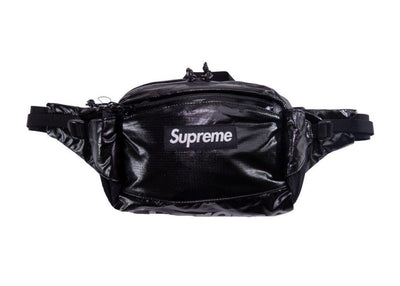 supreme waist bag black f/w 17