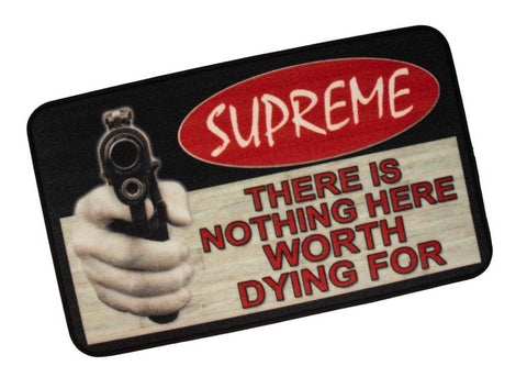 supreme welcome mat