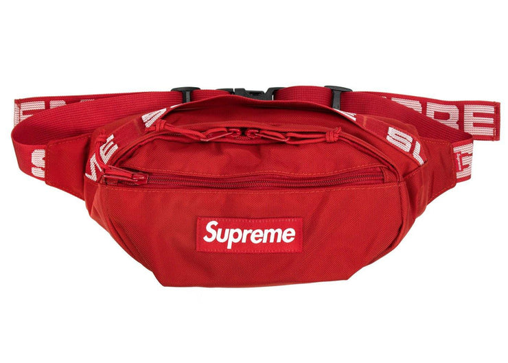 supreme waist bag red s/s 18