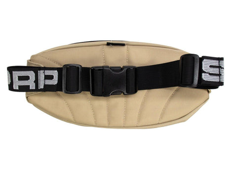 supreme waist bag tan ss 2018 back