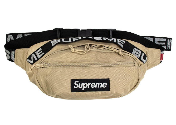 supreme waist bag tan ss 2018