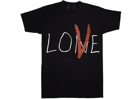 Vlone Lone Love t-shirt black