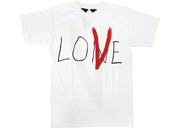 VLONEET LONE LOVE T-SHIRT WHITE