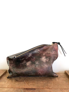 Galaxy Hand Painted Clutch
