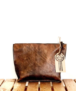 Ingrid Zip Clutch