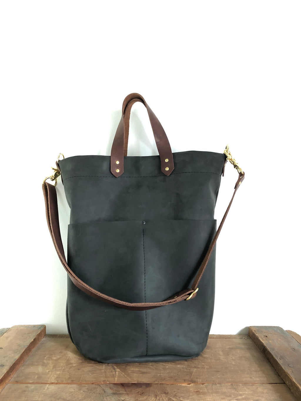 Nubuck Bucket Bag