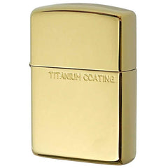 Armor Zippo Lighter Titanium Coating Gold Inside unit 162TC-G