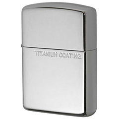 Armor Zippo Lighter Titanium Coating Silver 162TC-S