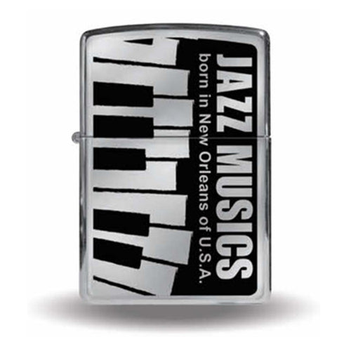 Zippo Lighter JAZZ MUSICS Born in New Orleans of U.S.A