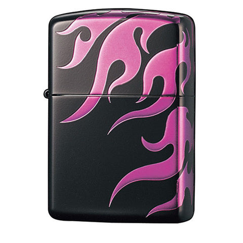 Zippo Lighter Tribal Violet Tatoo 4 Sides Design TRV4