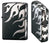 Zippo Lighter Tribal Black Silver Tatoo 4 Sides Design TRSV4