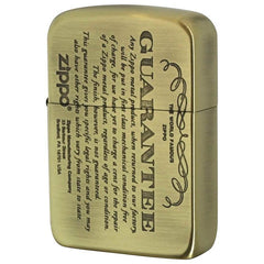 Zippo Lighter 1941 Replica Model GUARANTEE Design Brass 41GRT-BS