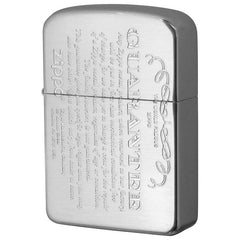 Zippo Lighter 1941 Replica Model GUARANTEE Design Silver Satin 41GRT-SS