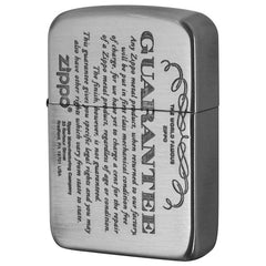 Zippo Lighter 1941 Replica Model GUARANTEE Design Nickel 41GRT-NI