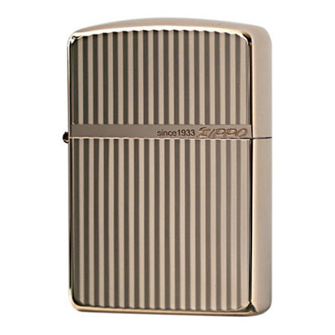 Armor Japan Zippo Lighter Standard Design 16SD-DB Pink gold plating