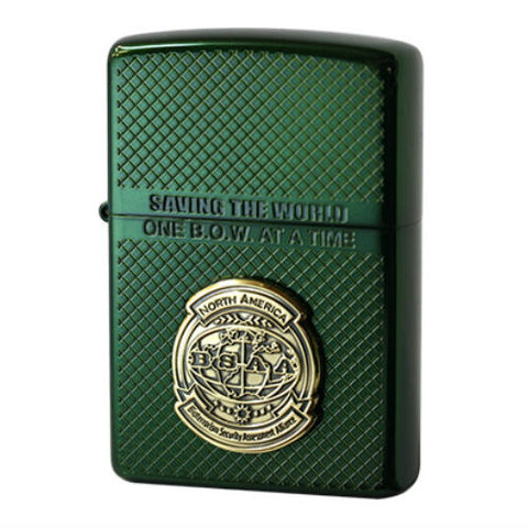 Zippo Lighter BIOHAZARD 6 BSAA NORTH AMERICA E-capcom Game