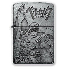 Zippo Lighter Berserk Guts Both sides design