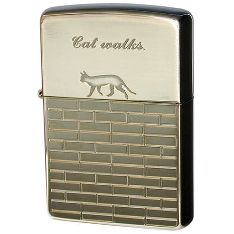 Zippo Lighter Cat Walk 2BN