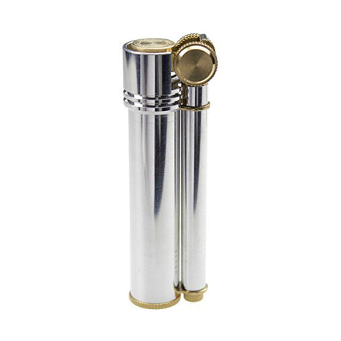 DOUGLASS classic design Field-L Aluminium Silver Oil lighter
