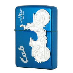 Zippo Lighter HONDA Japan Motorcycle Super Cub-100 Metal 50th Anniversary Edition