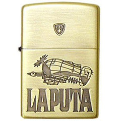 Zippo Lighter Castle in the Sky Tiger Moth Studio Ghibli NZ-01