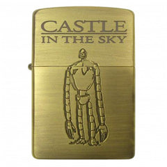 Zippo Lighter Castle in the Sky Robot Soldier Studio Ghibli NZ-02