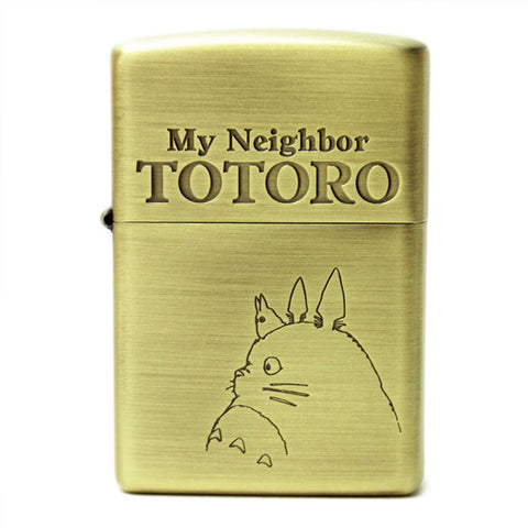 Zippo Lighter My Neighbor Totoro profile Studio Ghibli NZ-4