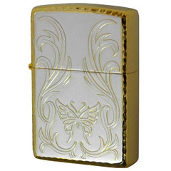 Zippo Lighter Brilliant Butterfly Arabesque Pattern BBB-SGP