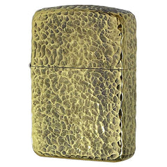 Zippo Lighter 1941 Replica Model Brass Old Finish Hammer Tone 41-S5